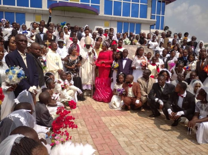 Mass Celebrations As 200 Couples Wed In Anambra
