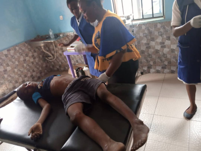 Driver Loses Control And Kills A Child In Anambra