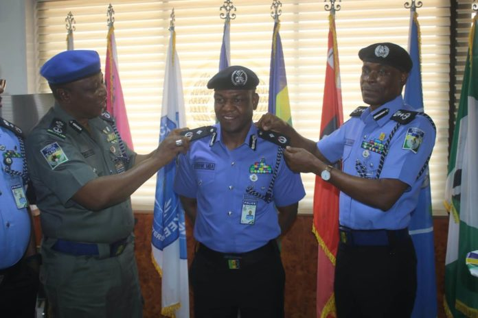 Frank Mba Promoted To The Rank Of A Commissioner Of Police