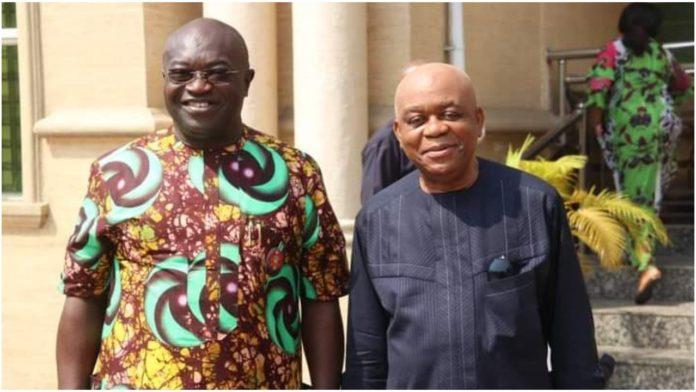 Ikpeazu, Senator Orji Meet As Political Watchers Hail Duo