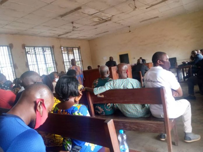 Anambra Magistrate Court Enforces COVID-19 Protocols