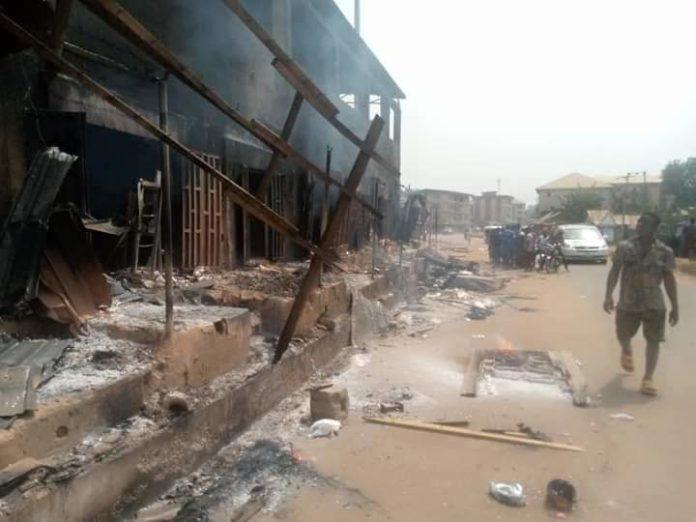 Eastern Security Network: Over 8 Buildings Burnt In Orlu