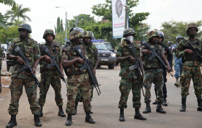 Soldiers Arrest Chief Of Staff Of Biafra Group, Members