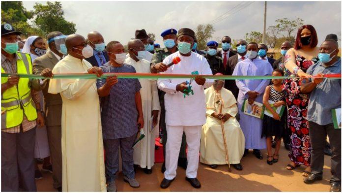 Rural Development: Ugwuanyi Inaugurates 12km Road