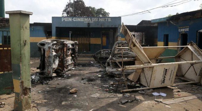 Hoodlums Burn Police Station, Kill Inspector In Abia