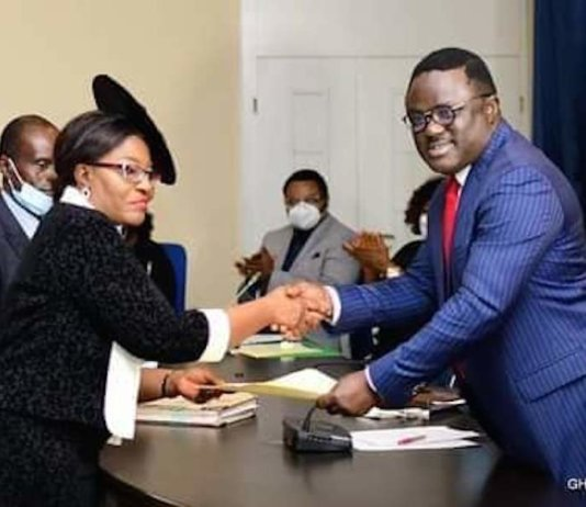 Ikpeme Finally Inaugurated As Cross River CJ