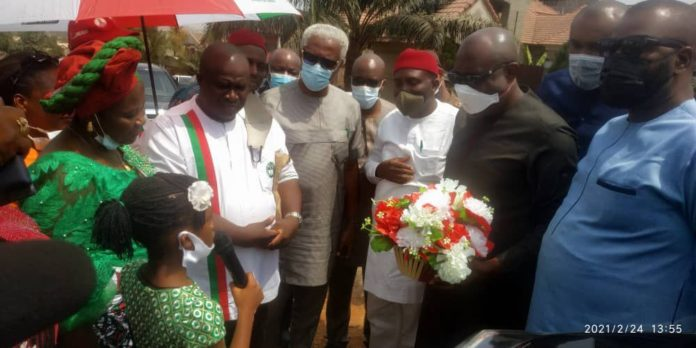 Metuh Donates Transformer To His Community, Offers Scholarship
