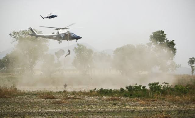 Military Conducts Air Strikes In Orlu In Search Of ESN