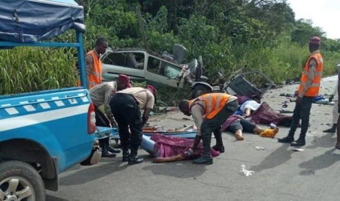 Tears As 10 Die In Ebonyi Auto Crash