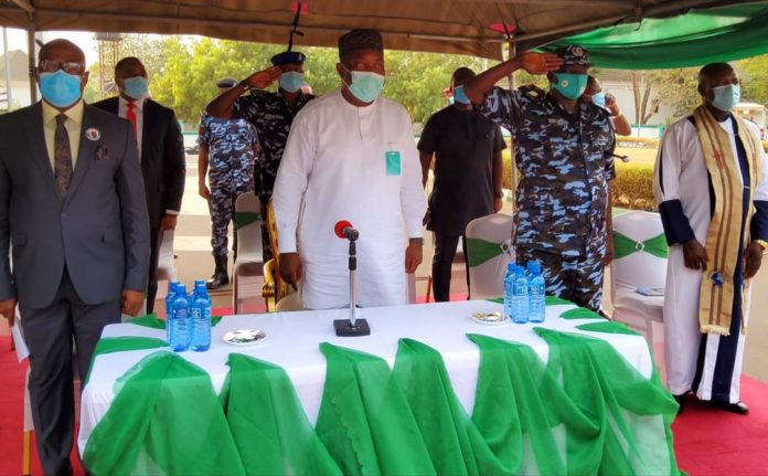 Ugwuanyi Inaugurates Special Constables For Community Policing