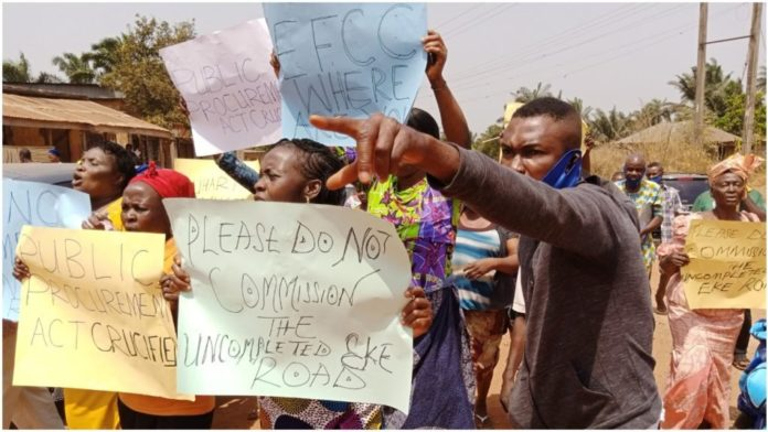 FG Ecological Fund: Community Leader Faults Enugu Protesters