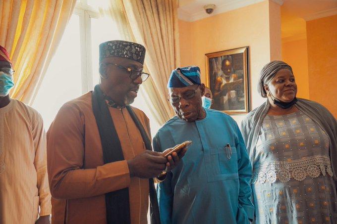 2023 Presidency Okorocha Meets Obasanjo In Abeokuta