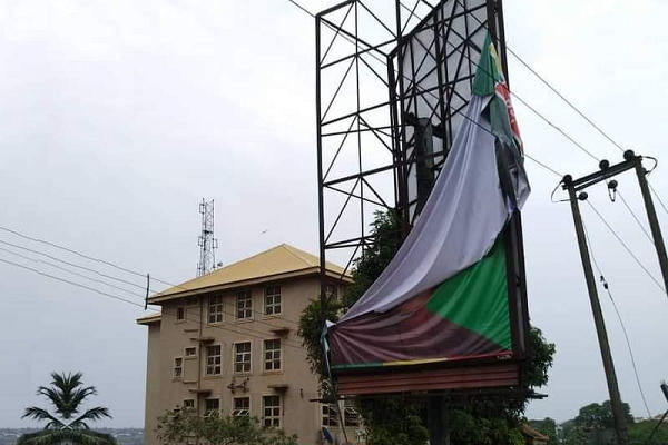 Anambra 2021 Ubah Accuses Obiano Of Destroying Billboards