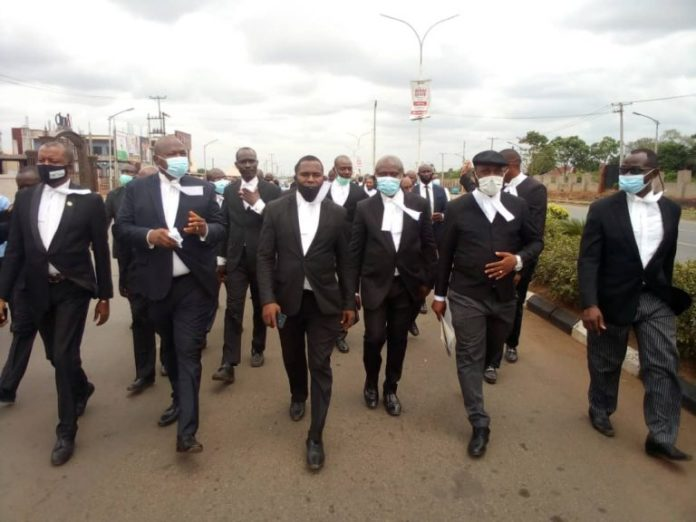 Anambra Lawyers Embark On 3-Day Court Boycott And Protests