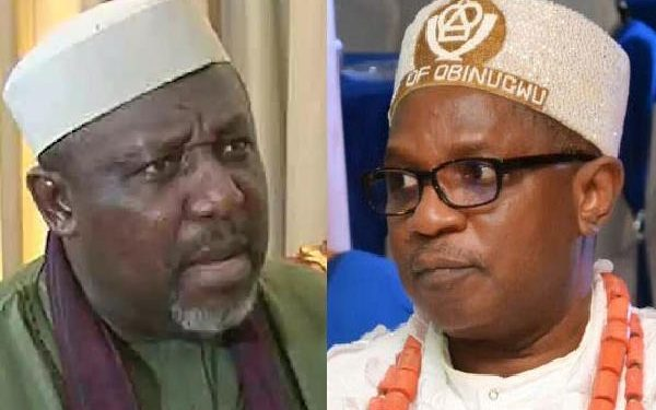 Drama As Imo Monarch Attacks Okorocha Inside Plane