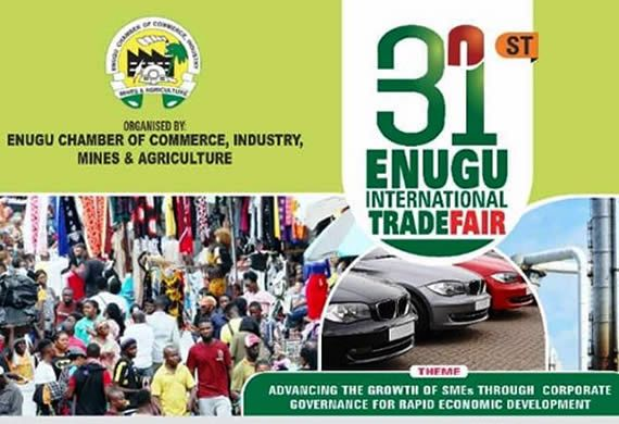 Enugu International Trade Fair Set To Kick-Off On March 19