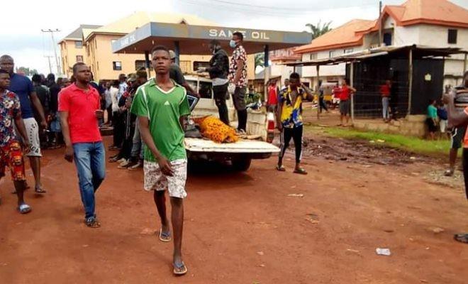 Man Stabs 98-Yr-Old Woman To Death In Enugu