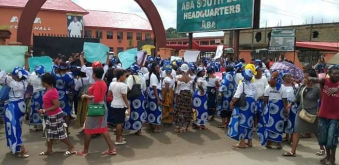 Abia Women Stage Protest Over Abandonment Of NDDC Roads