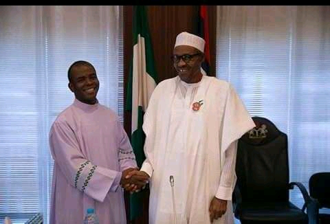 How Mbaka Asked For Contracts For Supporting Buhari - Presidency