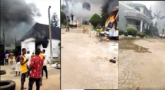 Gunmen Raze Gov Uzodinma's Residence