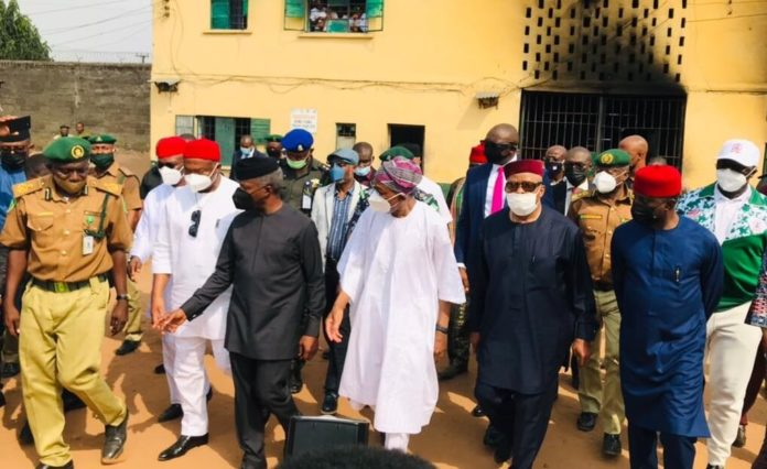 Hoodlums Out To Thwart Peace In Imo State – Osinbajo