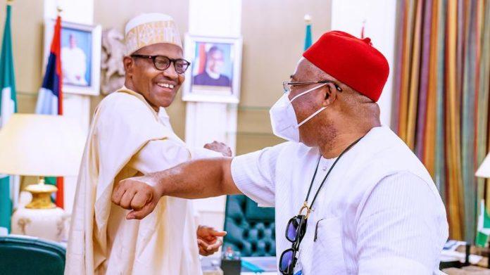Imo's 'Friendship' With Buhari, Lawan Beneficial - Uzodinma