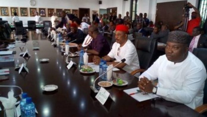 Insecurity: Southeast Govs Hold Emergency Meeting