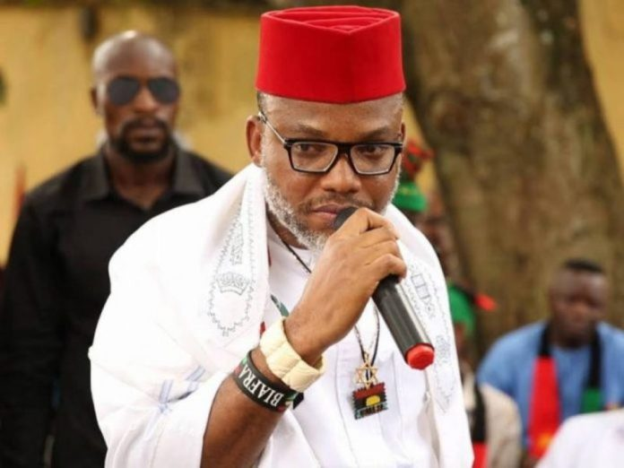 Nigerian Military Bombing And Secretly Killing Igbos – Kanu