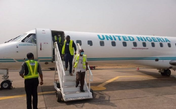 United Nigeria Airline Begins regular Flights To Owerri