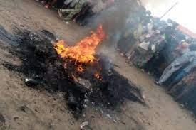 Villagers Set Fleeing Prisoner Ablaze In Imo