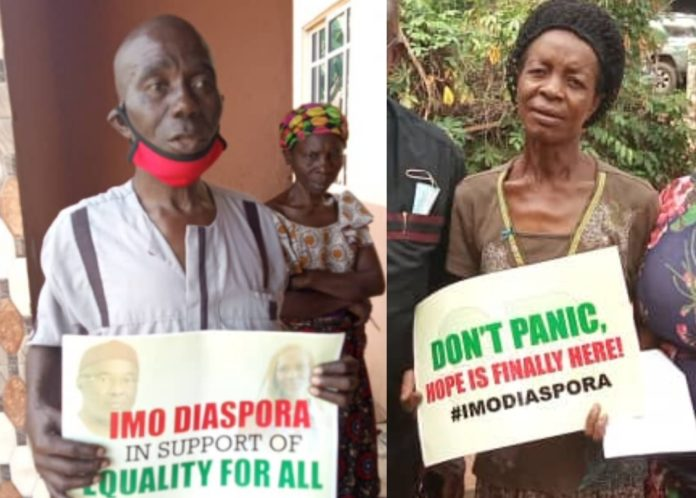 Isu Widows In Tears As Imo Diaspora Office And Isu Youths Join Forces