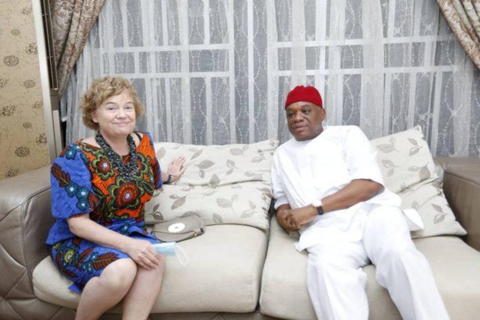 British High Commissioner Visits Senator Orji Kalu