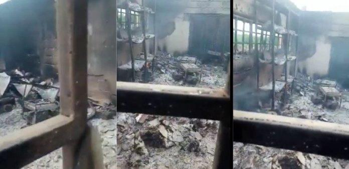 Two INEC Offices Set Ablaze In Ebonyi