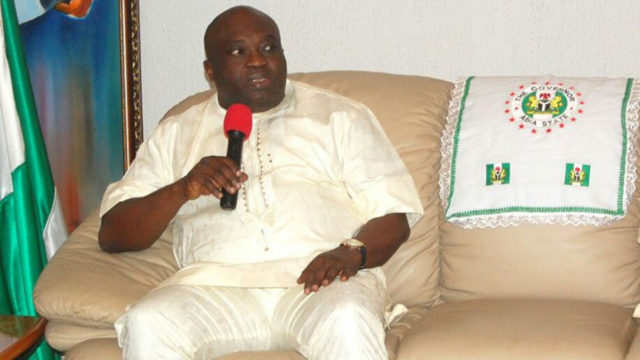 Ikpeazu Expresses Commitment To Completion Of Abia Dry Port