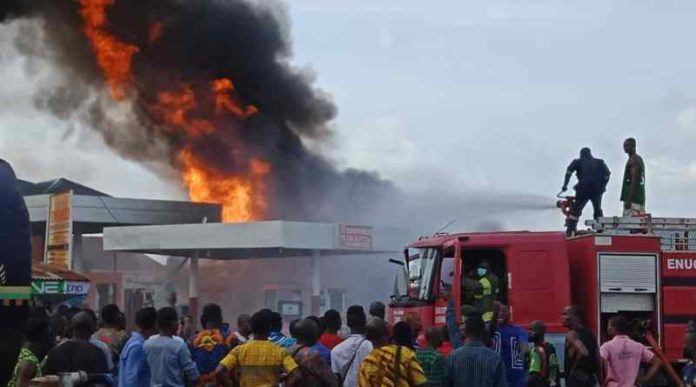 No Life Was Lost In Filling Station Inferno In Enugu – Police