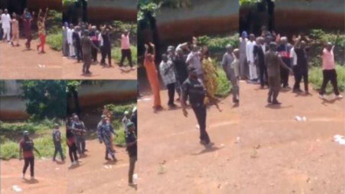 Outrage As Police Raid Enugu Church, March Worshippers Away