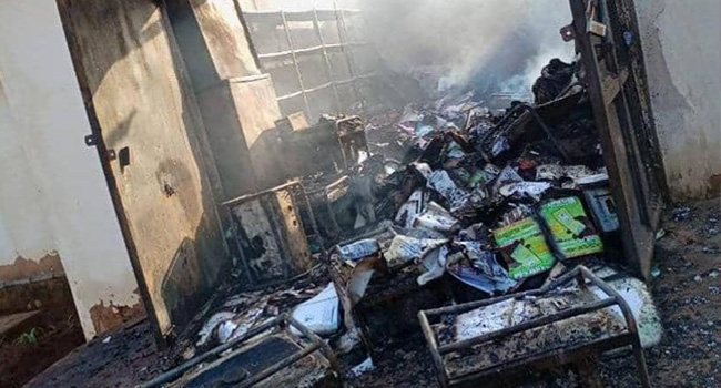 Police Commences Investigations Into Enugu INEC Office Fire