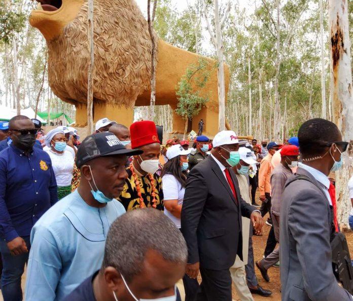 Ugwuanyi Inaugurates Enugu Unity Park