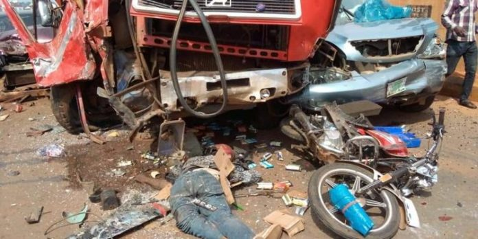 10 Killed, Vehicles Destroyed In Anambra Ghastly Accident