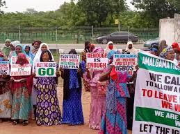 Allow Biafrans Go Without Bloodshed, Northern Women To Buhari
