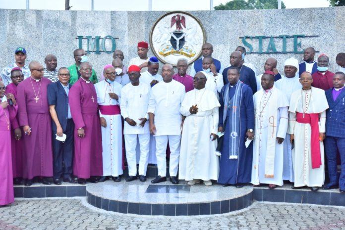 Imo Religious Leaders Urge Politicians To Sheathe Sword