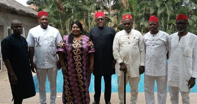 Insecurity Metuh Holds Talks With Ohanaeze Ndigbo