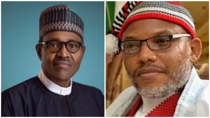 Nnamdi Kanu Reacts To Twitter's Deletion Of Buhari's Tweet