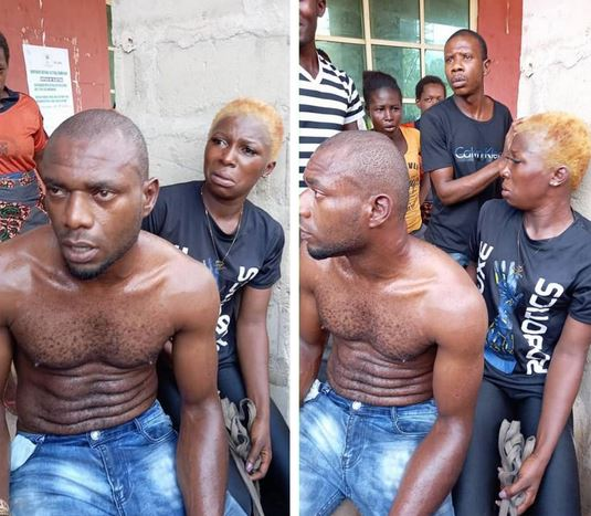 Two Lovers Arrested For Stealing Sheep In Anambra