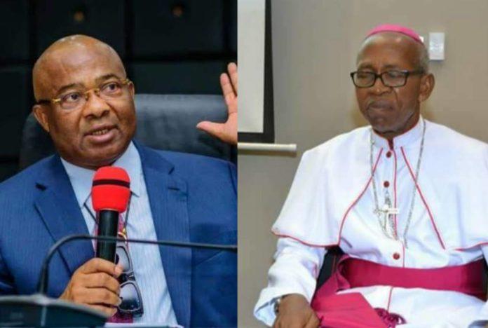 Uzodinma's Crookedness: Archbishop Obinna Has To Rebuke Him