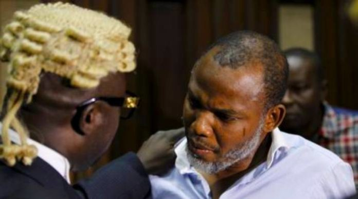 Allow Kanu Access To His Lawyers – HURIWA Urges DSS