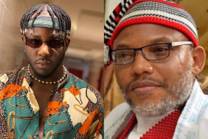 'Free Nnamdi Kanu' – Rapper, Zoro Drums Support For Kanu