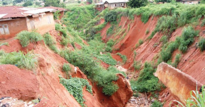 Abia Community Cries Out For Help Over Erosion