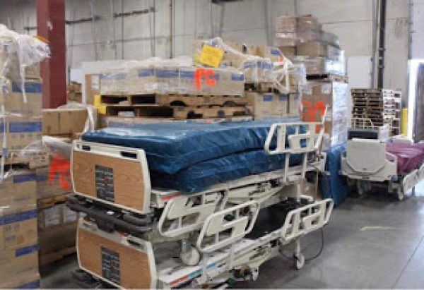 Abia Govt Receives Containers Of Medical Equipment From US