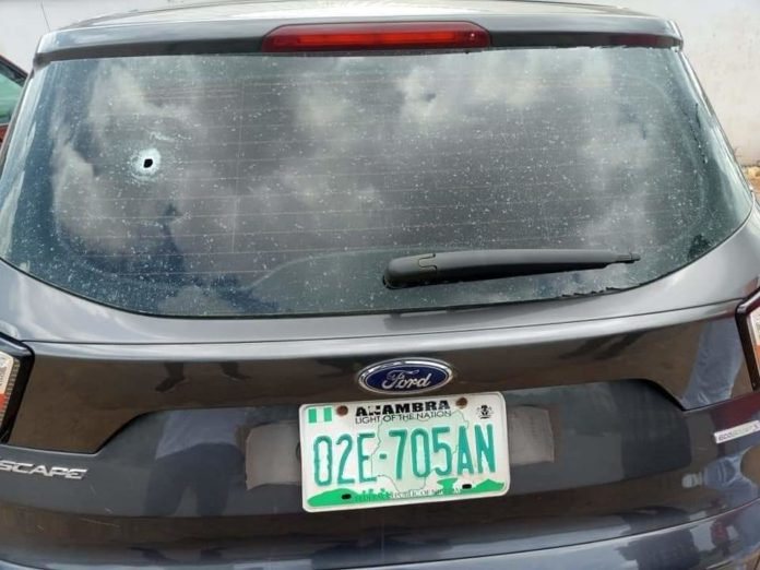 Anambra Commissioner Shot At Narrowly Escapes Death